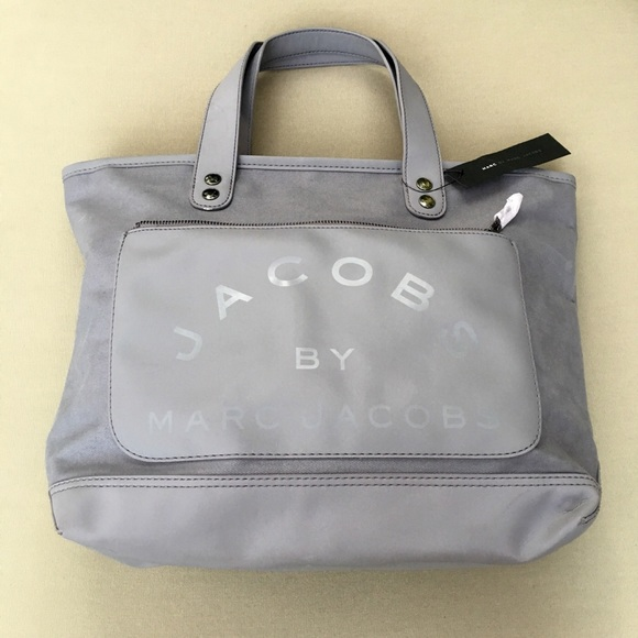 8eca429e28 Jacobs by Marc Jacobs grey canvas tote bag